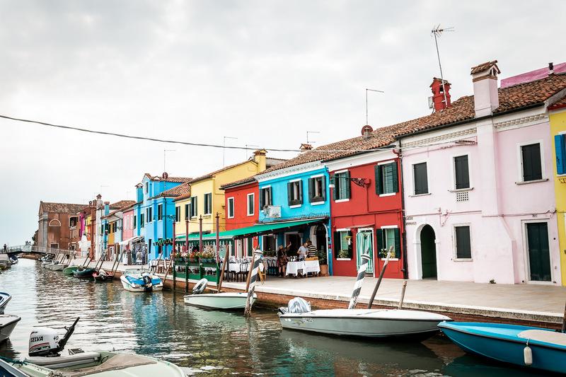 Burano, Venedig, Italien, Lagune