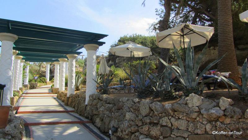 Thermen von Kalithea, Rhodos, Bucht, Griechenland