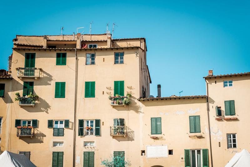 Lucca, Toskana, Italien, Stadtkern