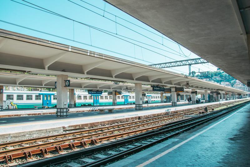 Bahnhof La Spezia, Cinque Terre, 5 Dörfer, Italien