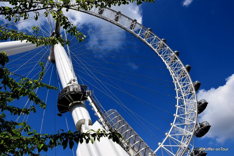 London Eye, Sehenswürdigkeit, Riesenrad, Themse, Big Ben, Gondeln