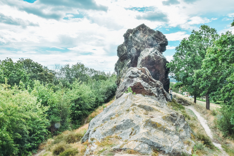 Teufelsmauer, Harz, Felsen, Königsstein, Urlaub in Deutschland,