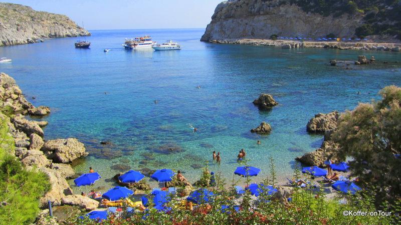 Anthony Quinn Bay, Bucht, Rhodos, Insel, Griechenland