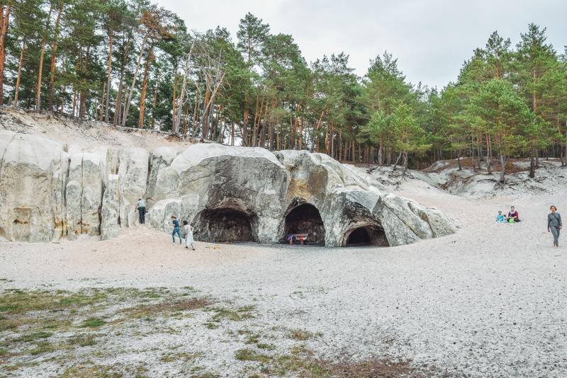 Sandsteinhöhlen, Heers, Harz, Natur, Urlaub in Deutschland,
