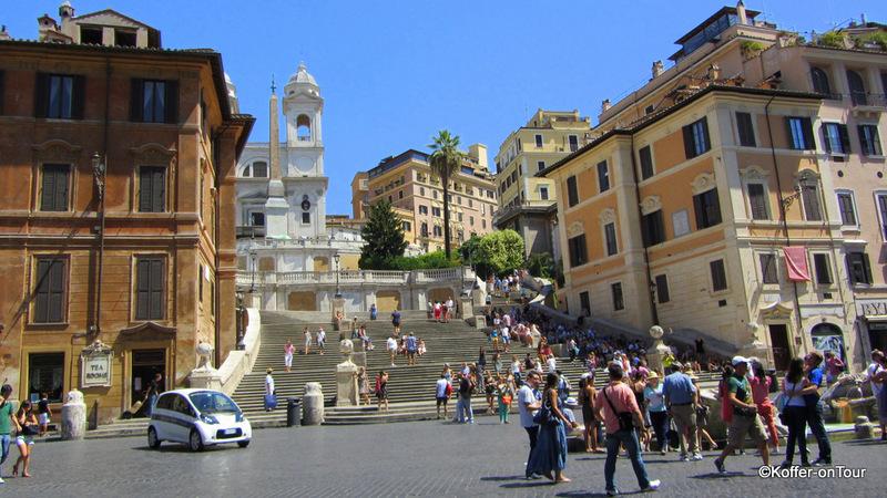 Spanische Treppe, Rom, Italien, Sehenswürdigkeit