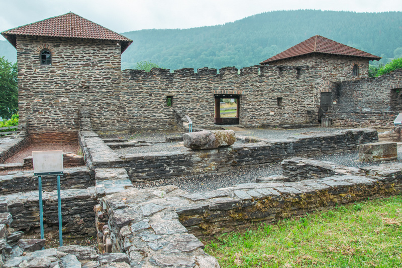 Römische Villa, Mehring, Ruine, Mosel, Deutschland, Geschichte