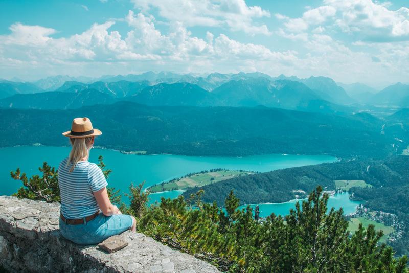 Walchensee, See, Seen, Deutschland, Reisen, Urlaub, Badesee