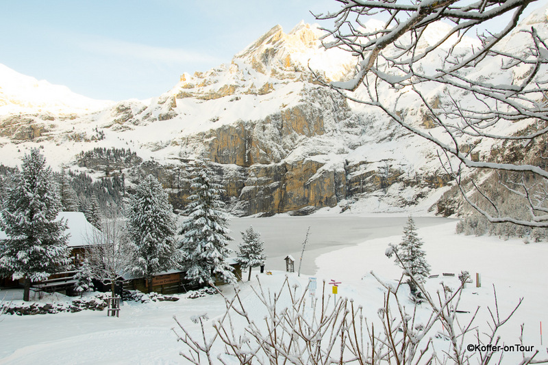Oeschinensee am Kandersteg, Schweiz