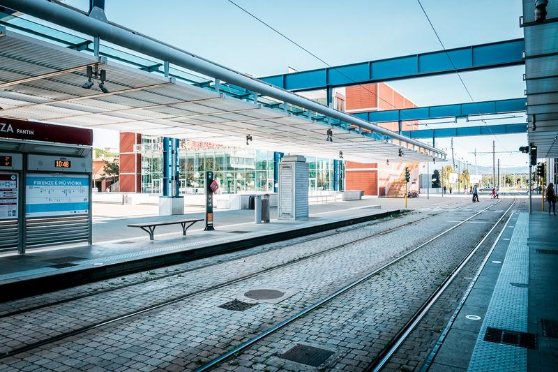 S-Bahn, Florenz, Italien, Toskana, Villa Constanza,