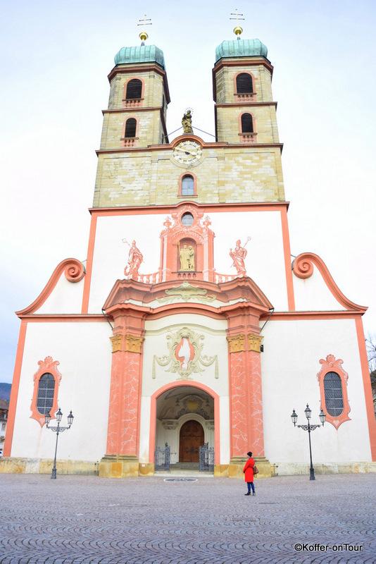 Fridolinsmünster , Kirche, Bad Säckingen