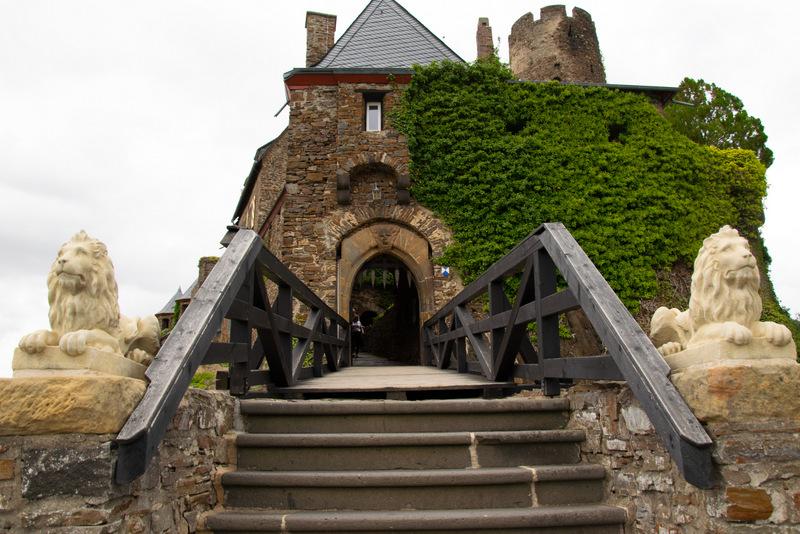 Burg Thurant, Alken, Mosel, Deutschland