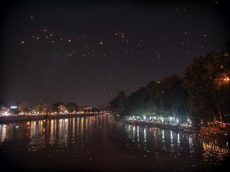 Chiang Mai, Thailand, Schönste Orte Thailand, Lichterfest