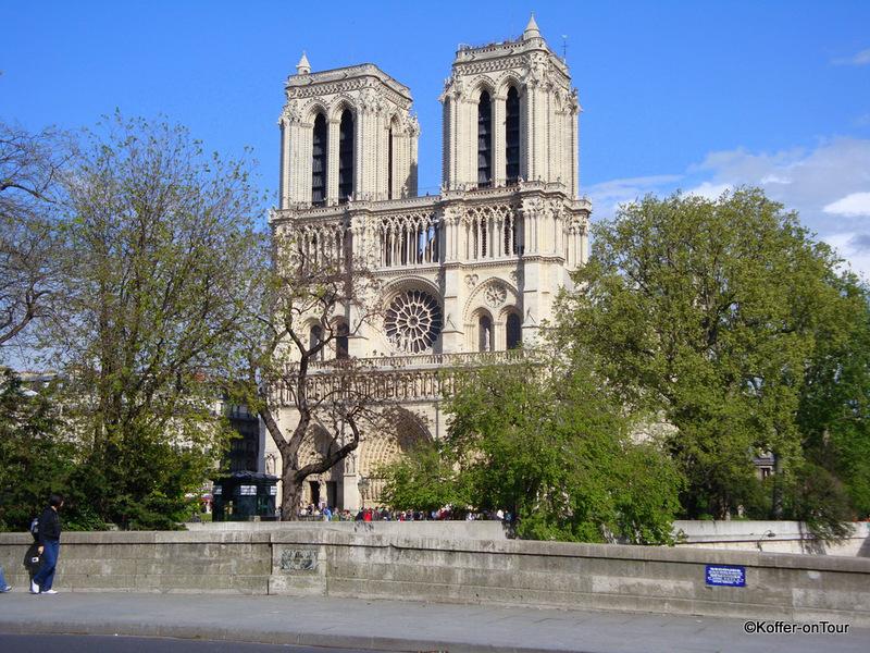 Notre Dame, Kathedrale, Paris, Frankreich