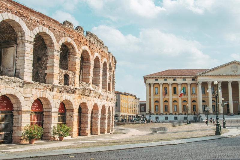 Verona, Romeo und Julia, Stadt der Liebe, Italien, Reisetipps, Coloseum