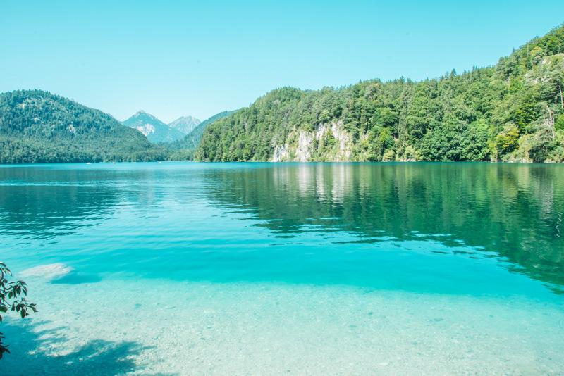Alpsee, Füssen, Deutschland, Reisen, Urlaub