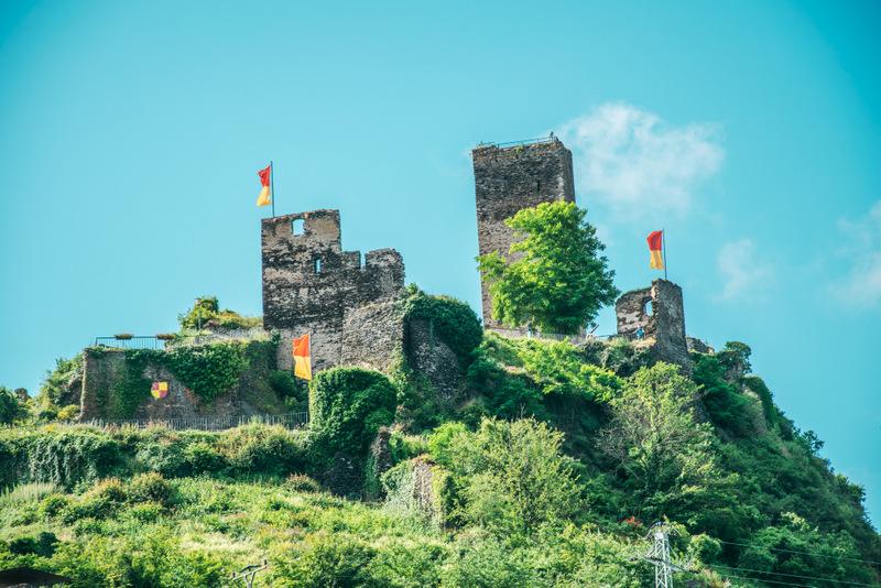 Burg Metternich, Ruine, Beilstein, Mosel, Deutschland, Urlaub