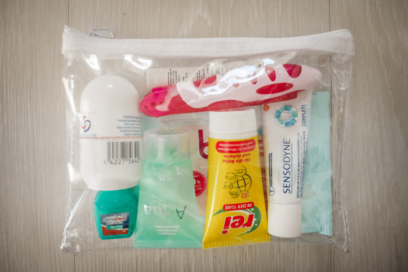 Hygieneartikel auf dem Städtetrip