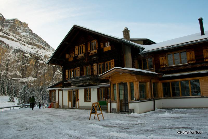 Restaurant, Hotel, Oeschinensee, Schweiz
