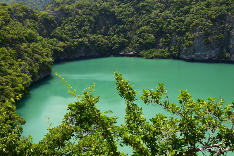 Smaragdsee, Ang Thong Marine Nationalpark, Koh Samui, ausflug, Thailand