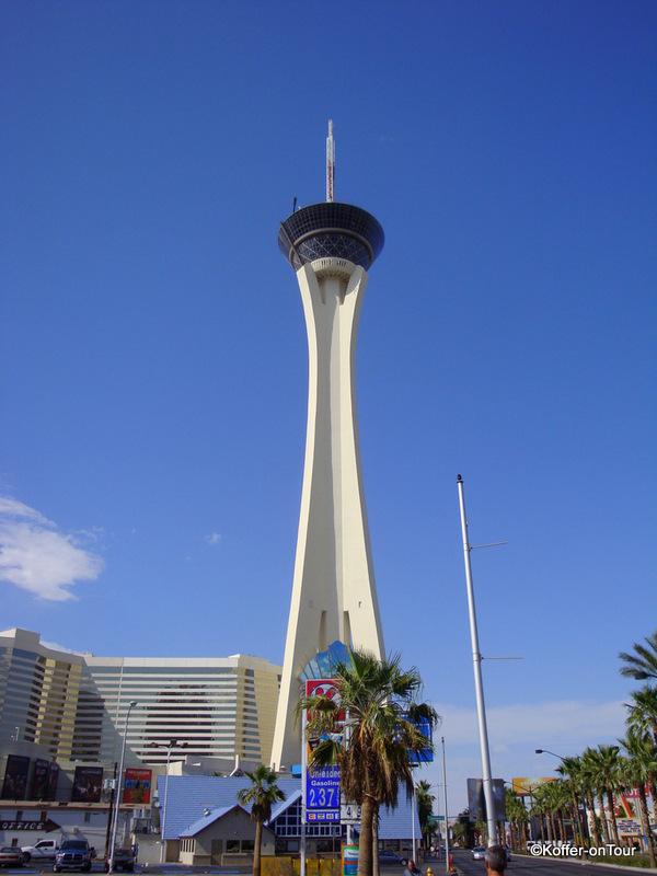 Stratosphere Las Vegas, Achterbahn, Turm, Strip, Las Vegas, Nevada