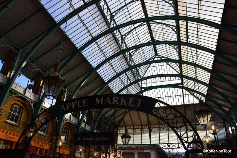 Covent Garden London Apple Market Markthalle Vintage
