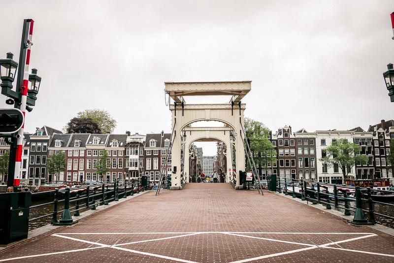 Magere Brug, Amsterdam, Brücke, Sehenswürdigkeit