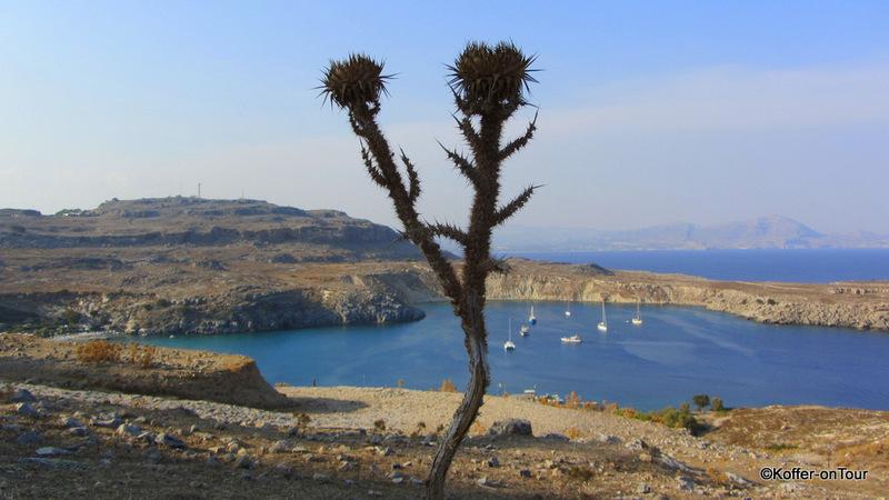 Rhodos, Lindos, Insel, Griechenland, Buchten