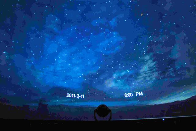 満月の夕べ