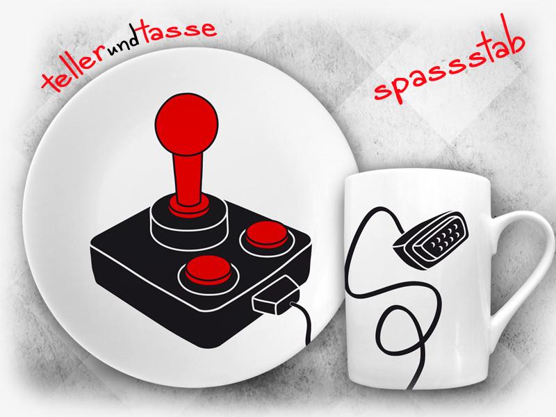 Geschenkidee Fur Nerds Geeks Und Gamer Spassstab Tellerundtasse De