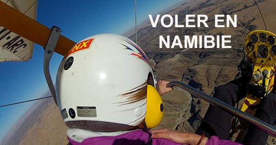 Voler en Namibie