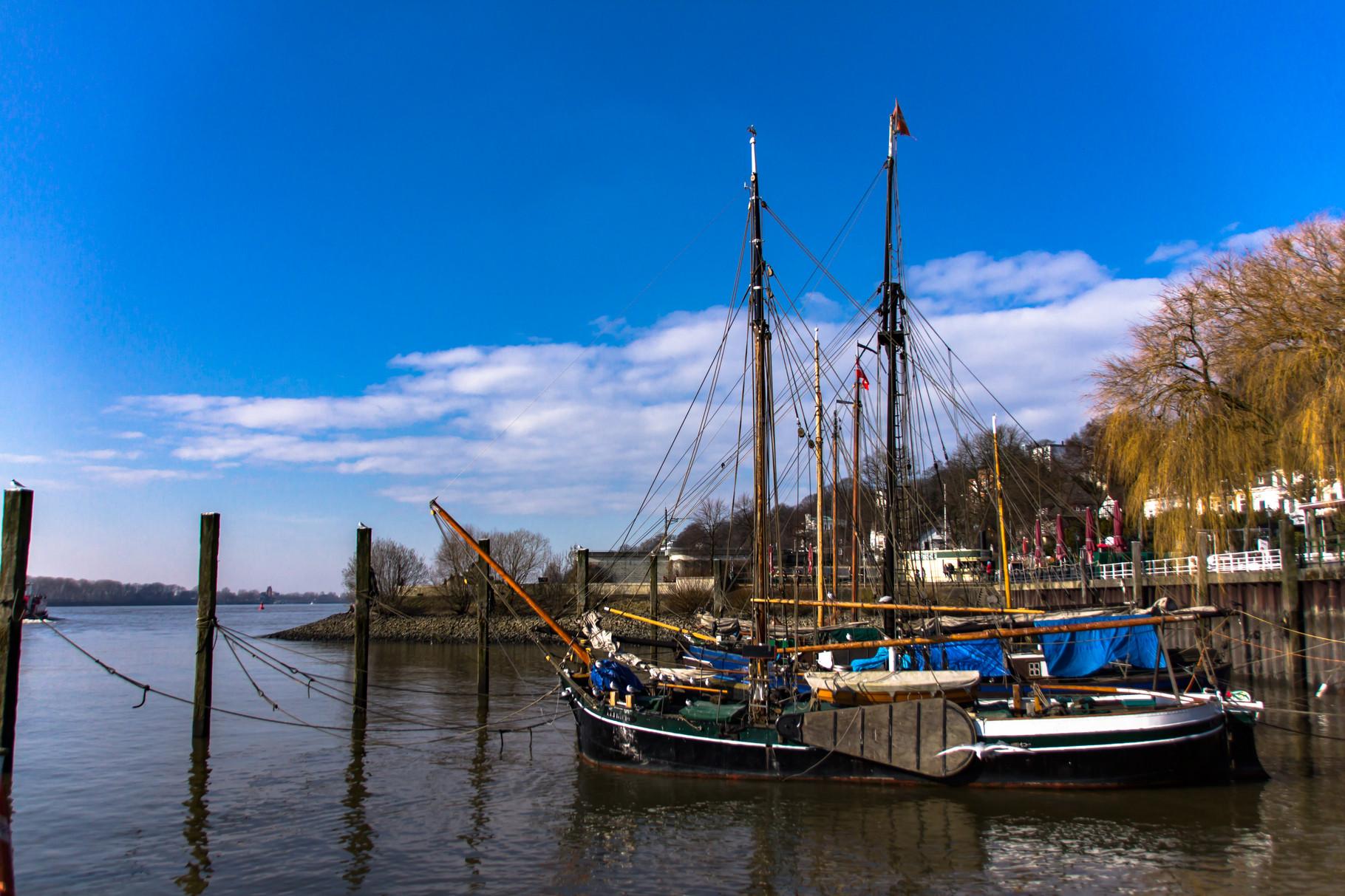 08_Hamburg - Elbstrand - Historischer Hafen.