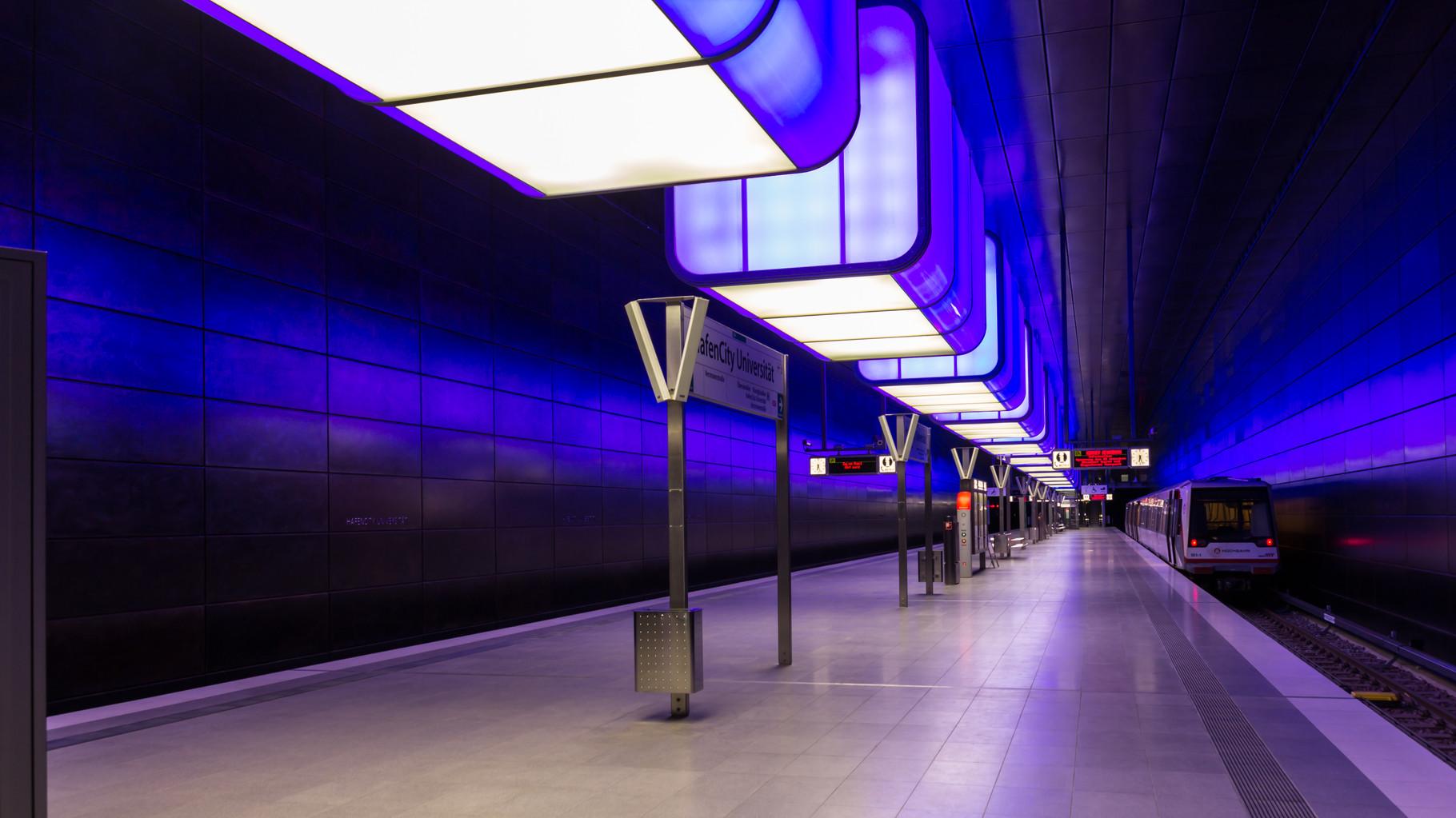 35_Hamburg - HafenCity Universität - U-Bahn.