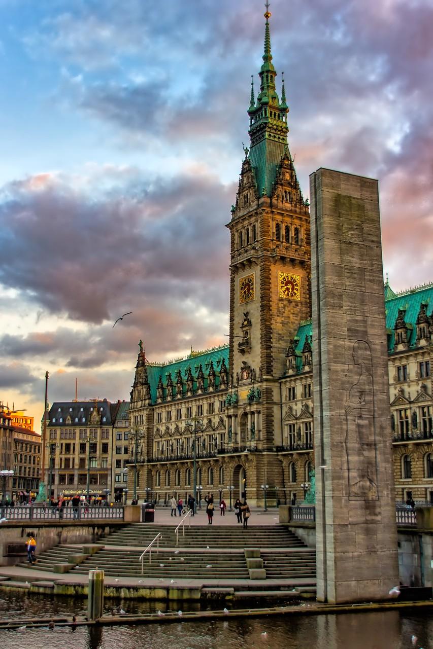 17_Hamburg - Rathaus.