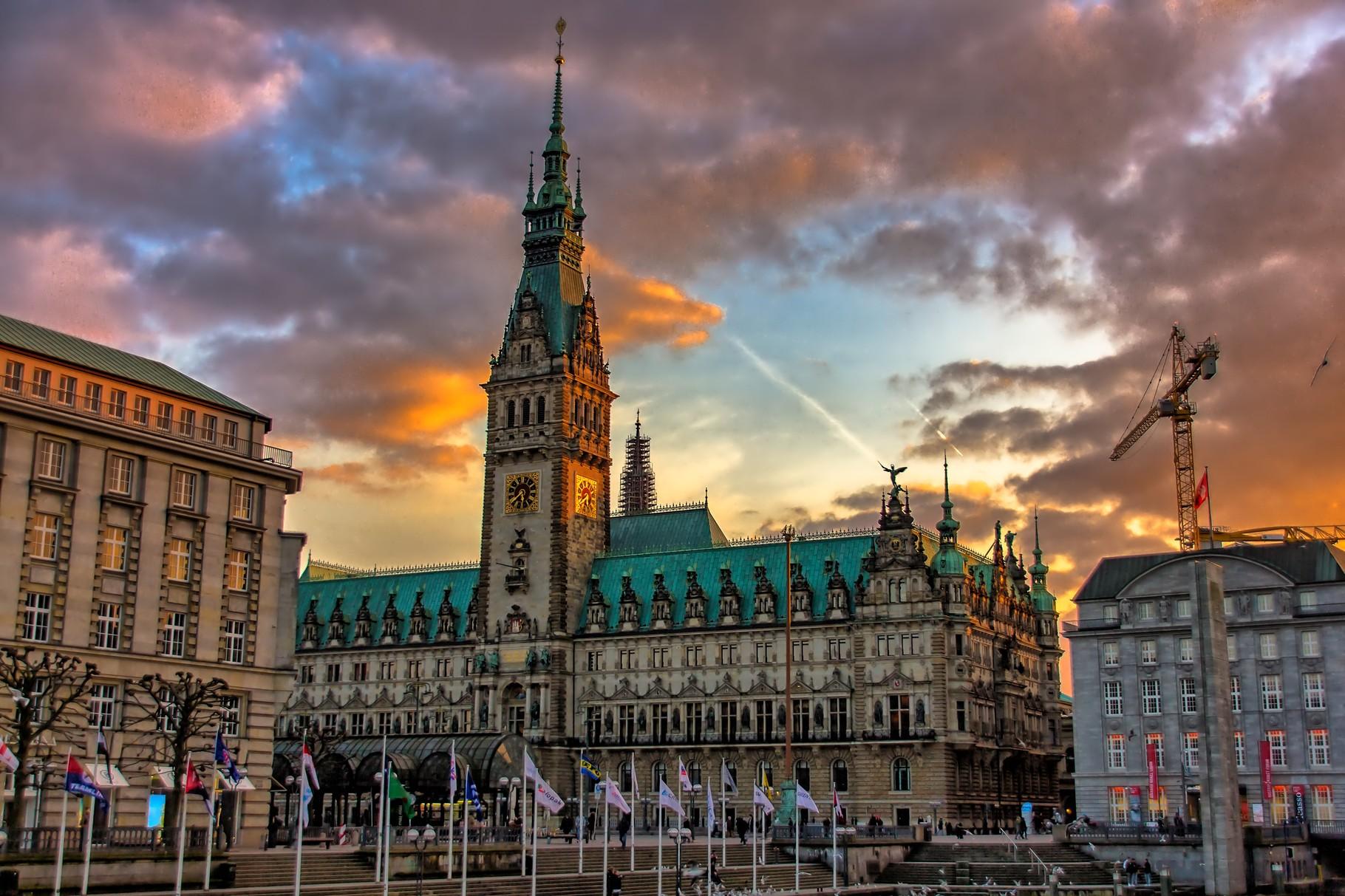 14_Hamburg - Rathaus.