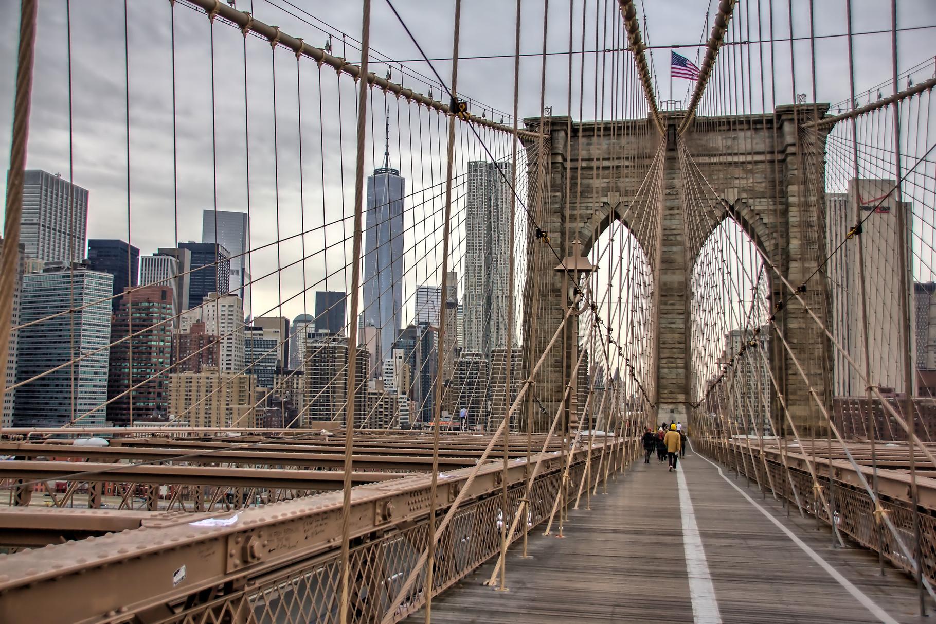 43_ NYC Brooklyn Bridge.