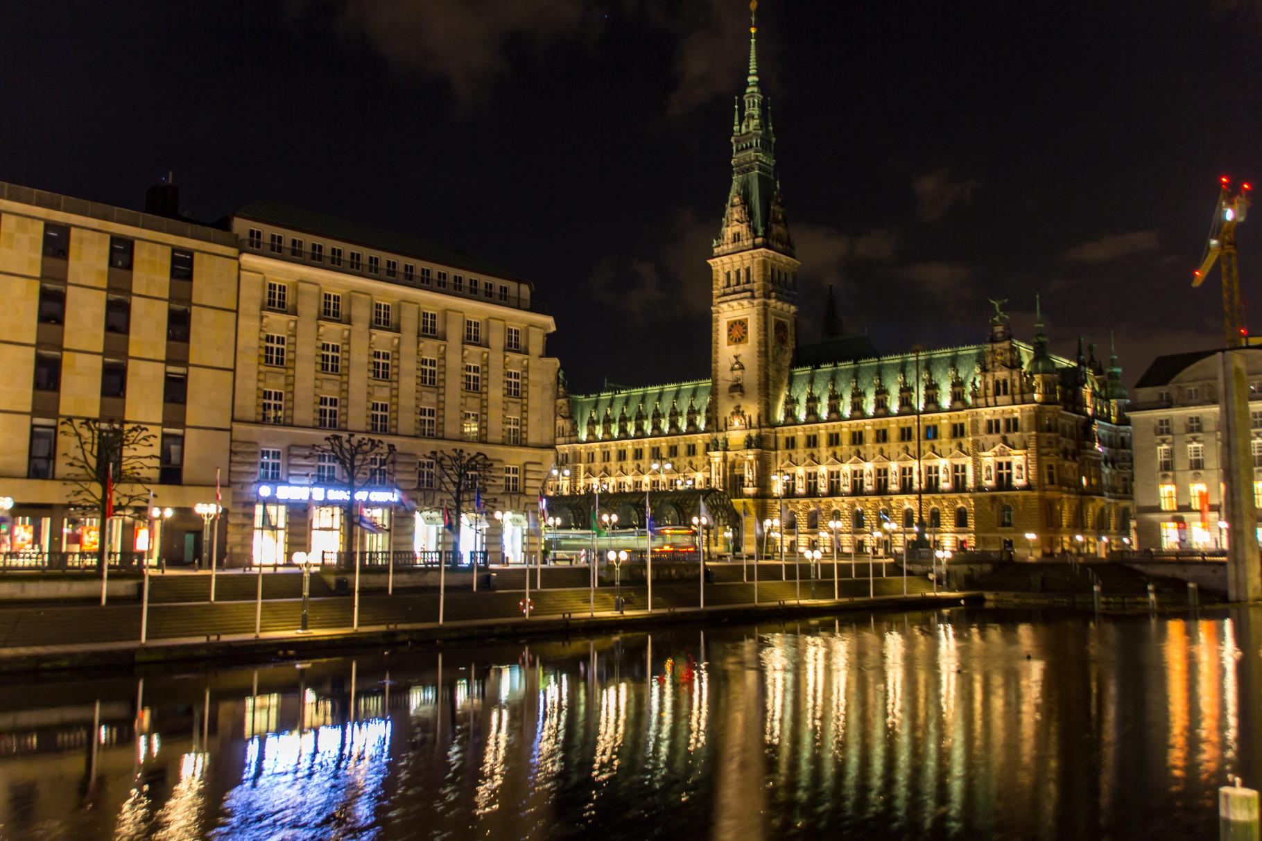 21_Hamburg - Rathaus.