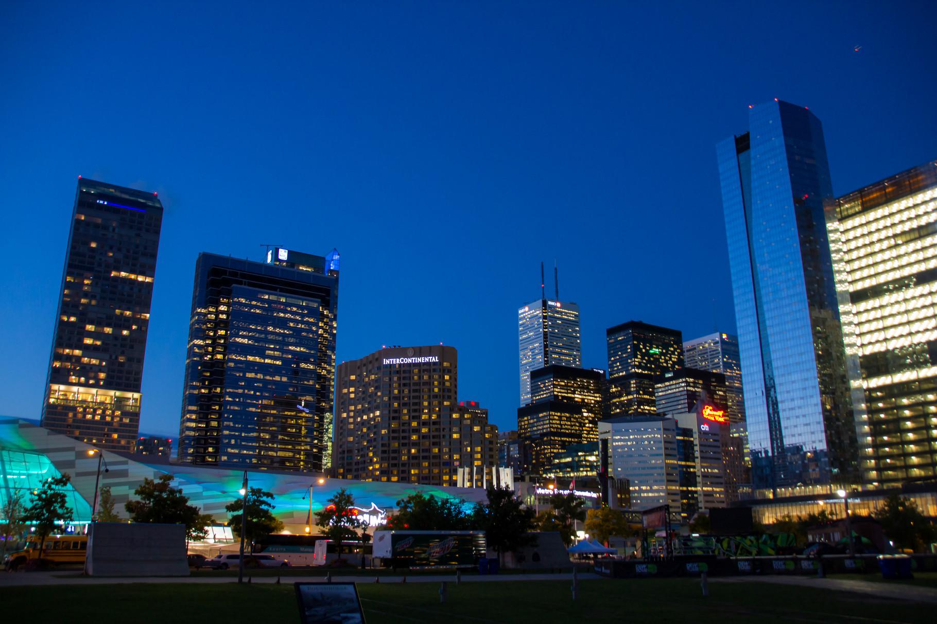 13_Toronto bei Nacht.