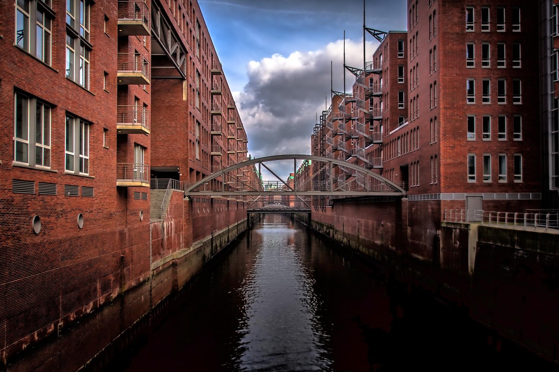 03_Hamburg - Speicherstadt.