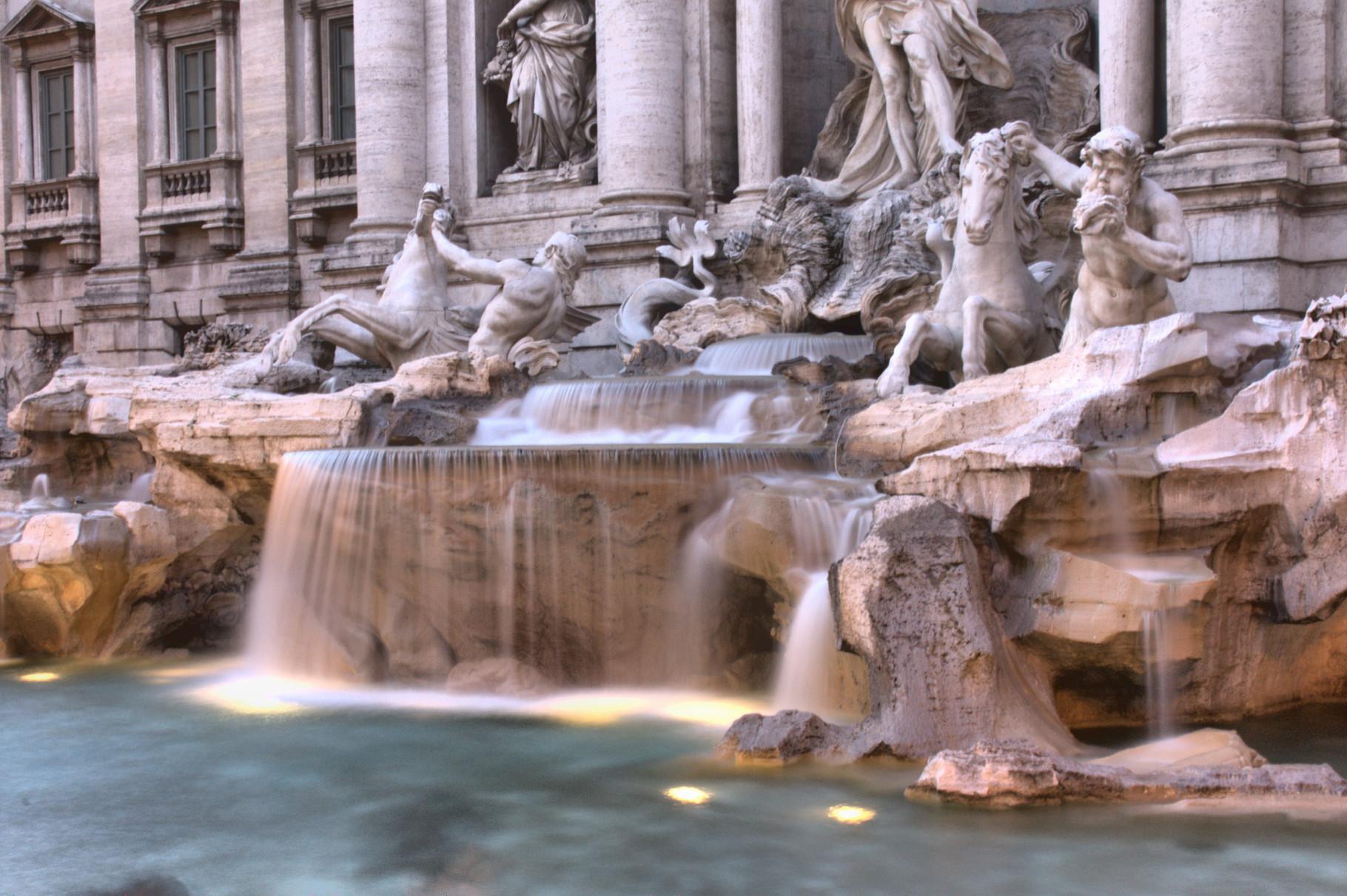 23_Rom - Trevi Brunnen.
