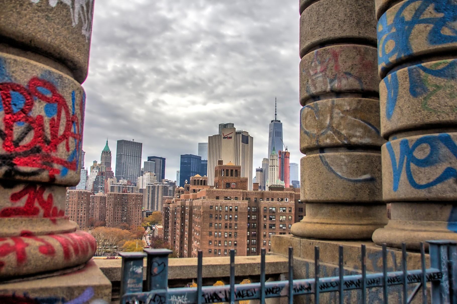 45_ NYC Manhattan Bridge.