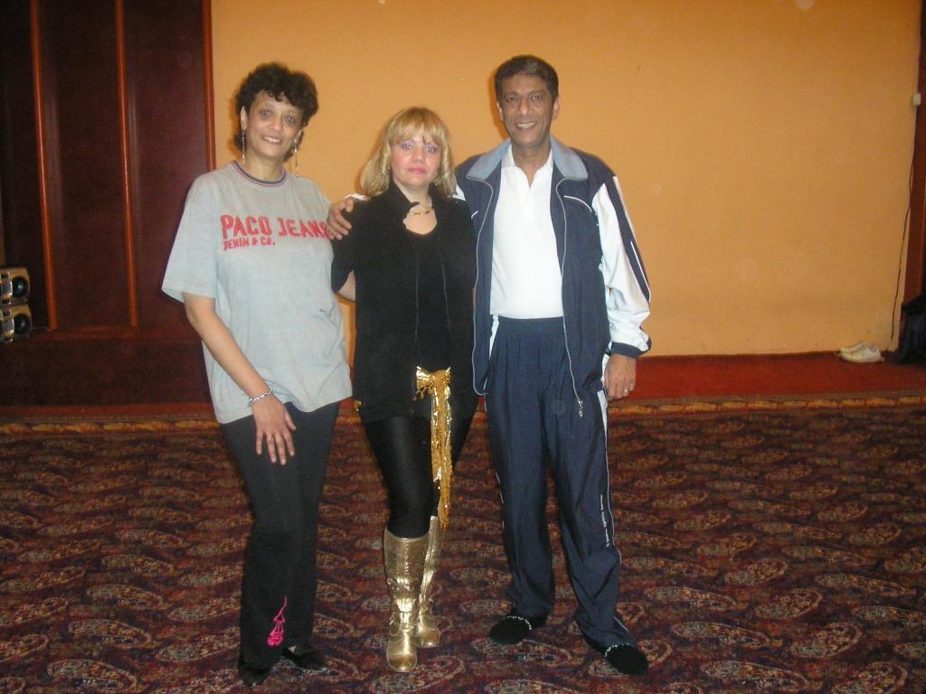 con Magada e Atef