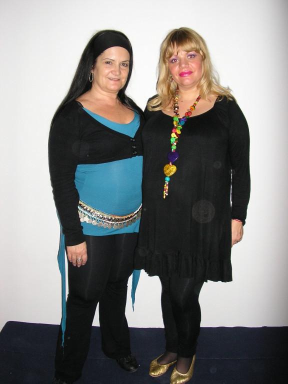 Con Margarita