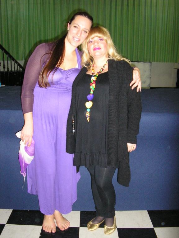 Con Giulia Mion