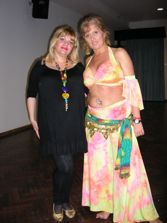 Con Sandy D'Aly
