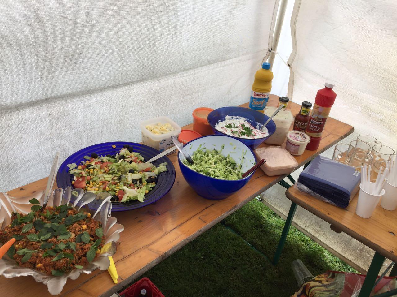 Unser Büfett - Selbstgemachte Köstlichkeiten