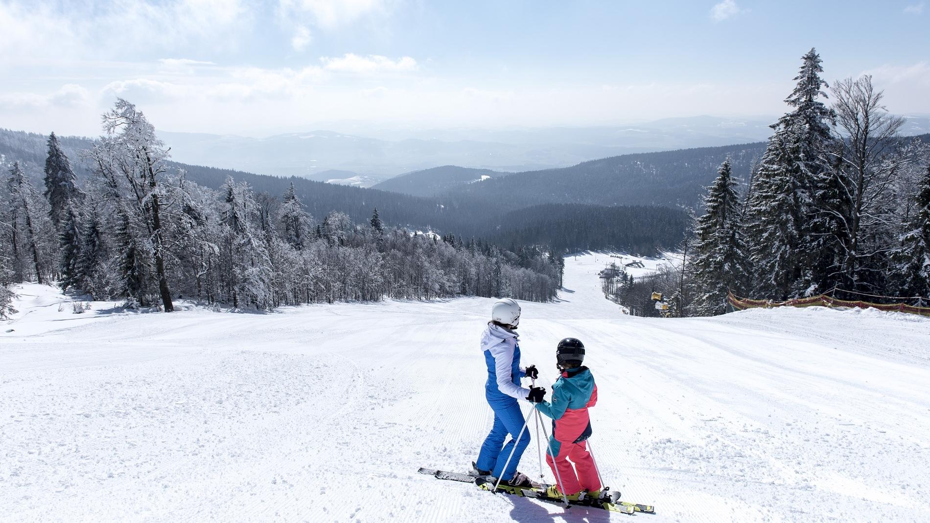 Besten präparierte Skipisten am Hochficht (c) OÖ Tourismus GmbH | Lugmayr