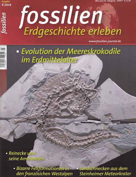 Fossilien Journal title Meereskrokodile