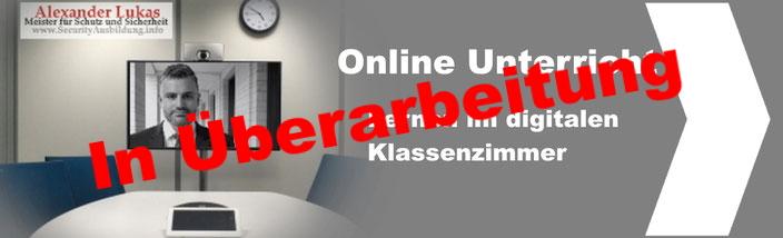 Online Kurs Sachkundeprüfung 34a