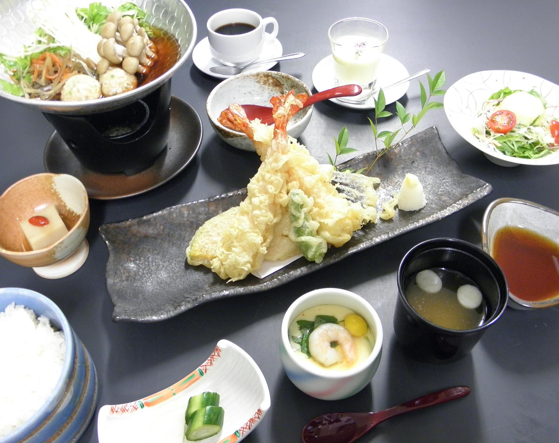 大海老天ぷら御膳 1,500円(税込)