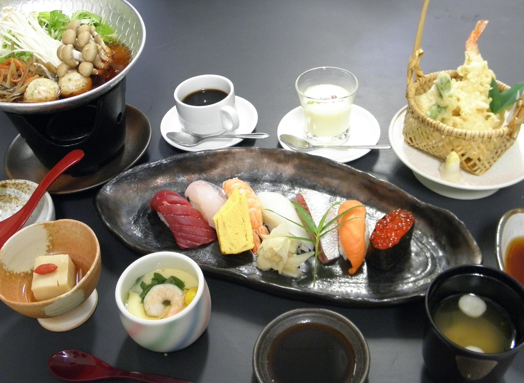 握り寿司御膳 1,700円(税別)